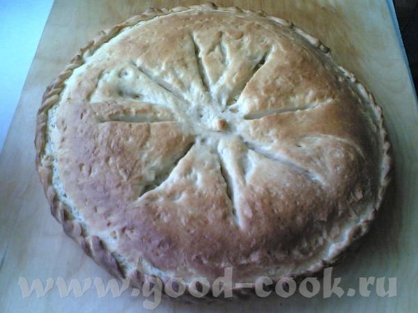 Приглашаю всех на пирог с капустой , тесто делала по этому рецепту