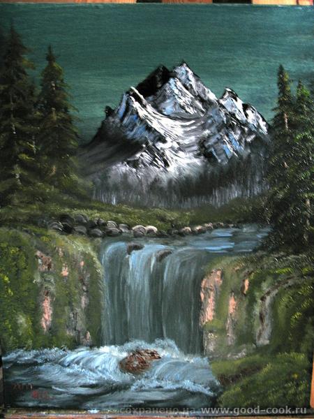 Горы и ели