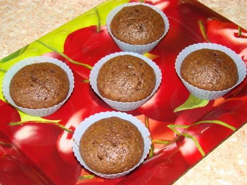 Эти кексики-мечта любого шокоголика Очень-очень шоколадный вкус - 5