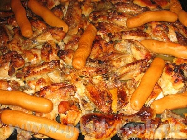 Курица с лимоном и розмарином Курица жаренная в цитрусовом маринаде - 2