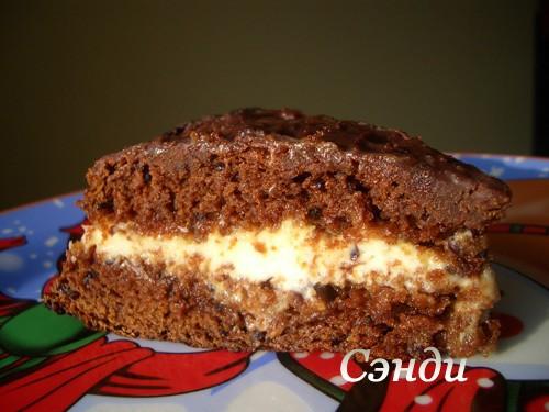 Торт чёрный принц с вареньем рецепт пошагово