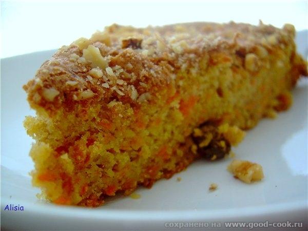 Воздушный Морковный пирог