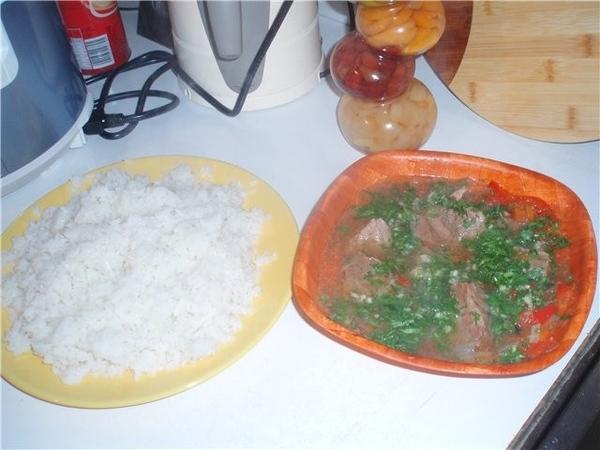 а вот мое первое блюдо
