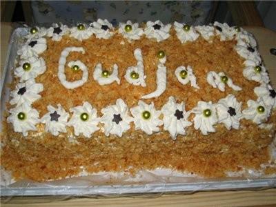 А у меня накопилось несколько фоток, вот и я с тортиками Делала ещё на Старый НГ Польский медовик о... - 3