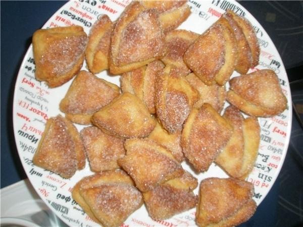 Сейчас испеклись Печенье творожные треугольнички - 2