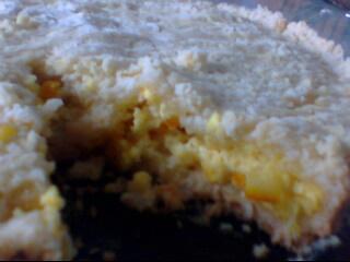 Пирог творожный с апельсином 1 пачка творога 2 яйца 1 стакан сахара 1 апельсин 1 пачка маргарина 2...