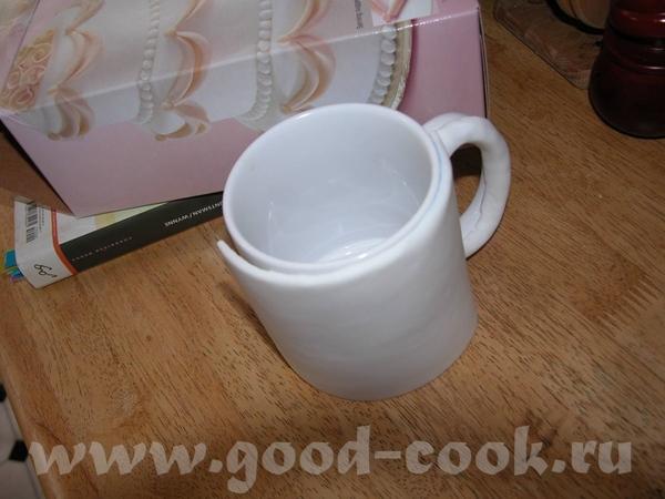 """""""ЧАШКА"""" Мне нужна была по дизайну только половина чашки"""