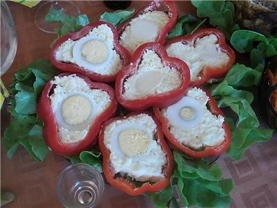 девочки покажу вам стол с дня рождения дочери, рецепты в основном все с сайта Ирины-джаз помидорки... - 3