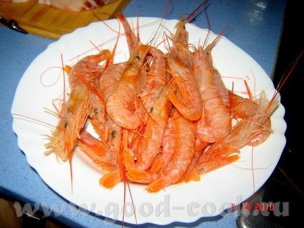 Paella de mariscos y pescado sepia (каракатица) -300 г (я использовала только часть каракатицы - 3