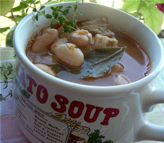 Вкусный согревающий суп для прохладного осеннего вечера