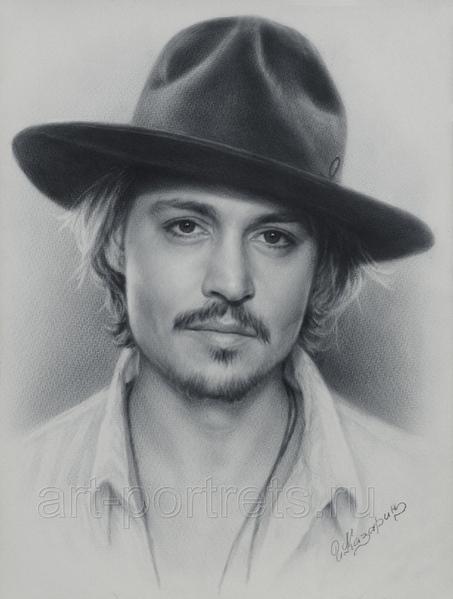 Вот тут есть небольшие ролики от художника Игоря Казарина, о том, как нарисовать портрет в технике...