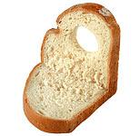 Бутерброд «Бычок» ОТСЮДА Компоненты 1 уголок хлеба, 2 ломтика вареной колбасы, 1 ломтик огурца, 2 ф... - 2