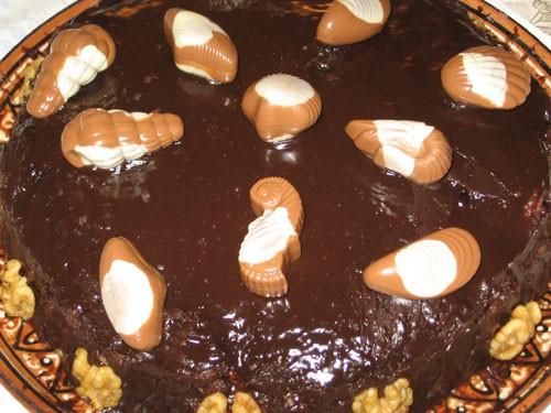 """А теперь сладкое: Мазурка с сушенной вишней Шоколадные шарики Торт """"На морском дне"""" - 5"""