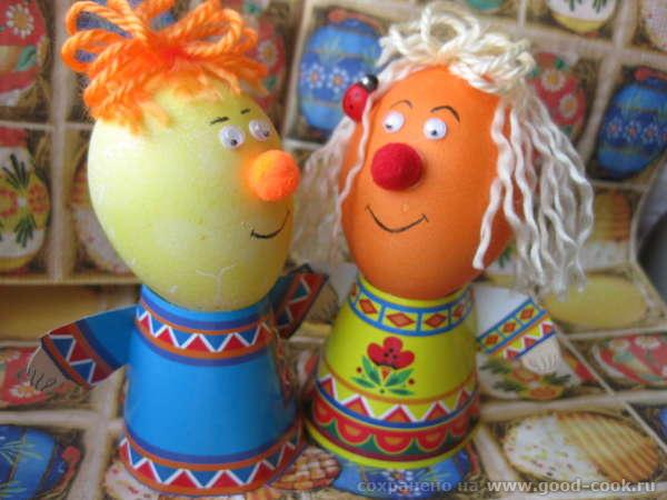 Сегодня пекла пасхальные куличи и красила яйца - 4