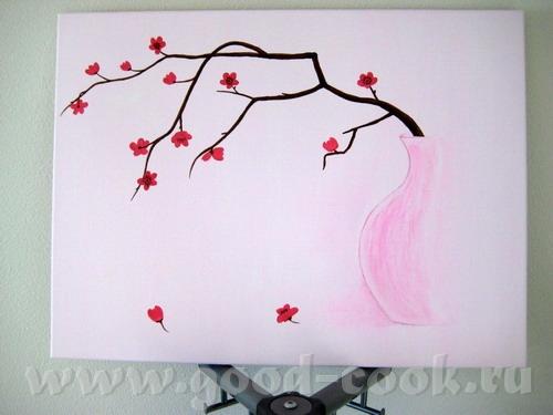 """Шестая """"В розовых тонах"""" - акрил, холст, 50х65 см"""