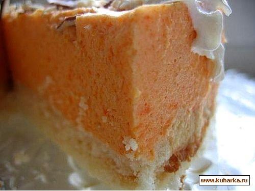 тыквенный торт оригинальный рецепт,а свои комментарии ниже для теста 150гр муки,100 гр сливочного м... - 5