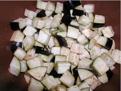 Бадымджан чихыртмасы - поджарка из баклажанов от Гюли