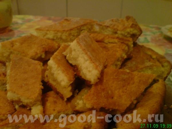 Пирог с лимоном от Grusha