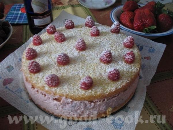 Несу большую спасибку Иннок за вкусный-превкусный торт Малиновый Мусс Очень рекомендую попробовать