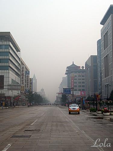 улица Ванфуцзин ( Пекинский Арбат) Половина улицы пешеходная