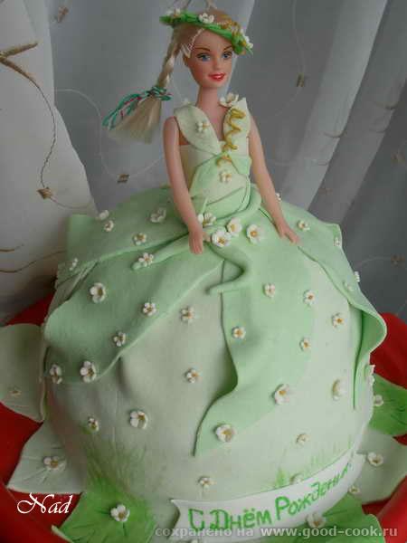 торт людмила в кукле
