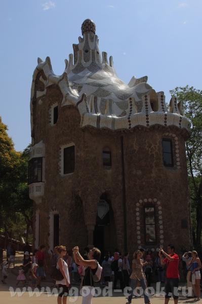 На следующий день мы снова встали рано, и поехали осматривать Барселонские достопримечательности - 3