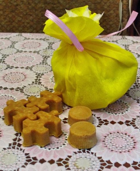 Мыло с люфой: Люффу перед использованием можно ошпаривать кипятком - 3