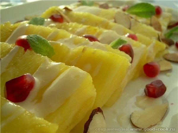 Карпаччо с ананасом - 2
