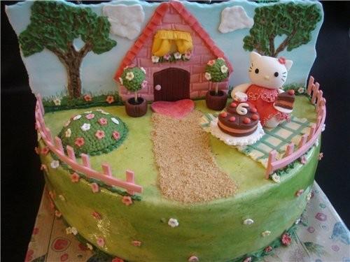 красивые тортики хорошенькая кукла тортик один на двоих - 3