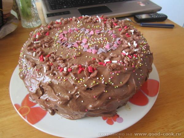 сделала несколько тортиков на бисквите из сгущенки, спасибо вам и мульте, избавилась от чувства вины - 2