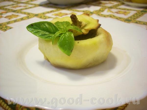 Жареные овощи с чили Патиссоны, фаршированные тунцом с соусом песто - 2