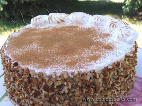Ну, а если у вас не сильно жарко, то предложу ароматный морковный торт