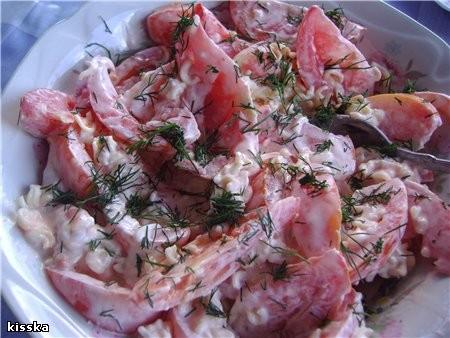 Научили меня в Беларуси такому салатику