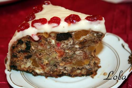 Рождественский пирог : ЗДЕСЬ 3 яйца 150 гр сахара 1 ч - 2