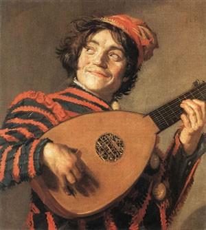 Johann Friedrich Overbeck (1789-1869), Gemaldegalerie Neue Meiste Германия Frans Hals: Jester with... - 2