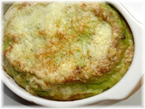 Gratin de brocoli на 6 персон: 1 броколи(примерно 1200 гр