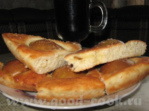 Грушевый пирог от alenkii 3 яйца 1 стакан сахара 1 пакетик ванильного сахара 2 средние груши 100 гр - 2