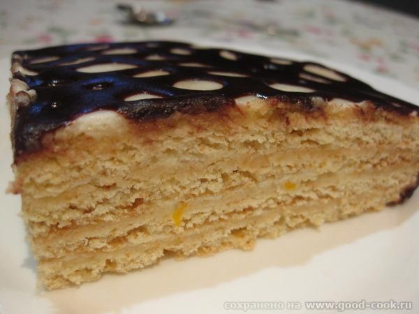 """Ну а на сладкое у нас был простой в приготовлении и будничный в оформлении торт из книги """"Все о тор... - 5"""