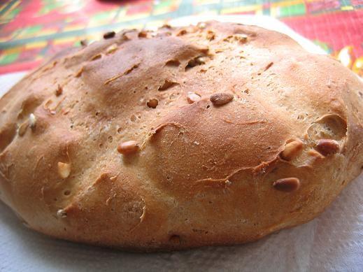 Ржаной хлеб с семечками и кедровыми орехами рецепт Ржаной хлеб с семечками и кедровыми орехами 250...