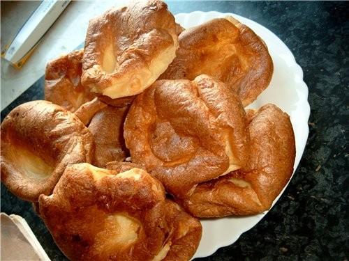 """Popovers - Пустые булочки 2 из книги """"Brot und Hefegebдck"""
