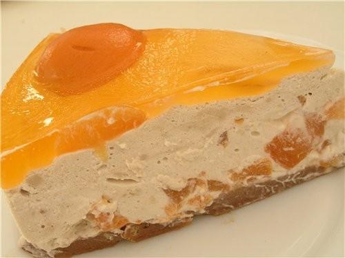 Абрикосовый торт с йогуртово-кофейным кремом - 2