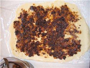 "Торт ""ЛАБИРИНТ"" с черносливом и курагой Для теста: 1яйцо, 1 стакан сметаны, 1 стакан сахара, 1 стол... - 2"