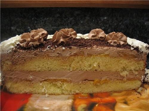 Вот такой простенький тортик пекла мужу на день рождения - 2