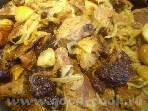 Сегодня делала мясо в каштанах (не знаю,как это по-азербайджански называется,но выясню) Итак,каштан... - 4