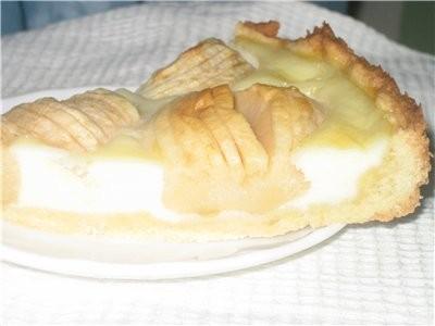 Люда вчера пекла Эльзасский ябочный пирог - 2