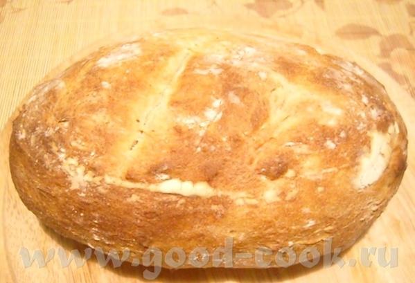 Светлый ржаной хлеб Нелечка, спасибо за этот хлебушек