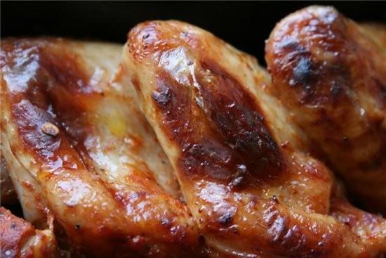 такой маринад для куриных крыльев я люблю больше всего на кг крыльев по полной столовой ложке томат... - 2