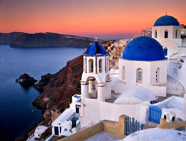 Фото Санторини, Греция