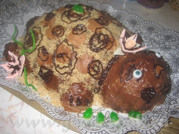 """Торт """"Пани Черепаха"""" ( основа """"Панчо"""")"""