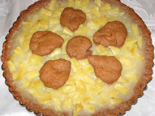 И наконец сладкое: Наполеон (пекла моя мама ) Шоколадный пай с ананасом от - 4